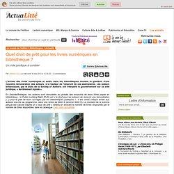 Quel droit de prêt pour les livres numériques en bibliothèque ?