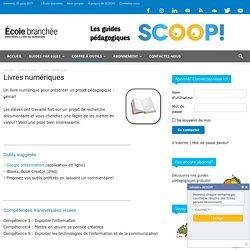 Livres numériques - Les guides pédagogiques SCOOP!