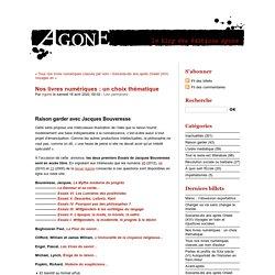 Editions Agone - livres numériques gratuits