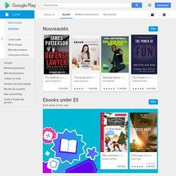 Livres sur GooglePlay