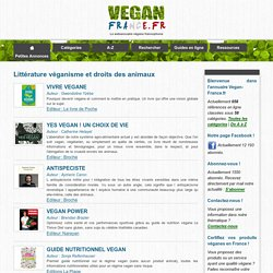 Livres véganes & veganisme