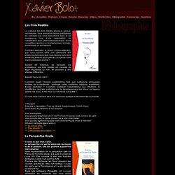 Livres de Xavier Bolot