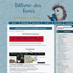 Sélection du Prix des Incorruptibles 2013-2014