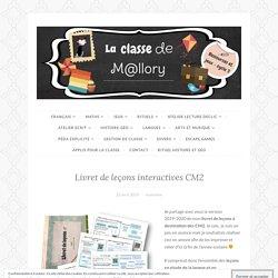 Livret de leçons interactives CM2