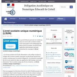 Livret scolaire unique numérique (LSUN)