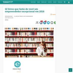 12 livros de empreendedorismo para 2016