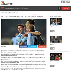 Argentina 6 Paraguay 1: Messi leads Martino's men to Copa final