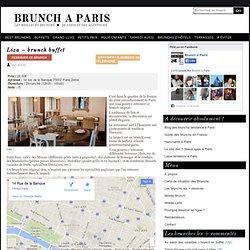 Liza – brunch buffet
