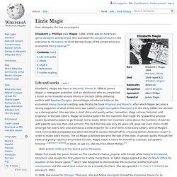 Lizzie Magie