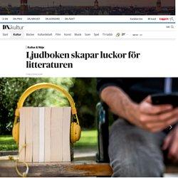 Ljudboken skapar luckor för litteraturen