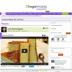 Coca de llanda en la Comunidad de Cocina - Hogarmania.com