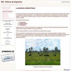 LLANURAS ARGENTINAS - 558 - Relieve de Argentina