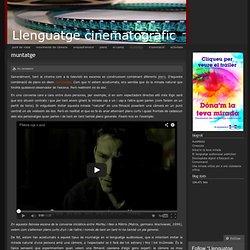 Muntatge « Llenguatge cinematogràfic