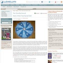 Articles: Swirls of Stars Tarot Spread Cloth