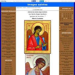 Llitanies des Saints Anges Gardiens