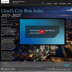 Lloyd's City Risk Index 2015-2025