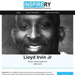 Lloyd Irvin Jr