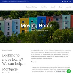 Moving Home Mortgages in Bristol