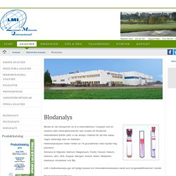 LMI AB - Blodanalys