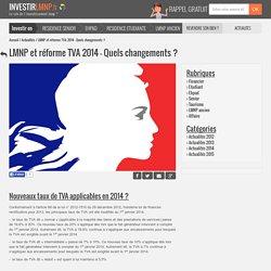 LMNP et taux de TVA 2014