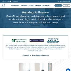LMS Banking & Finance Industry