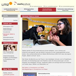 LMZ: Werkstatt Tablet & Schule