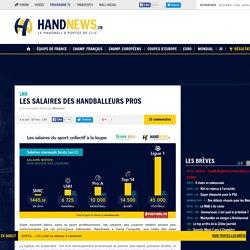 Les salaires des handballeurs pros