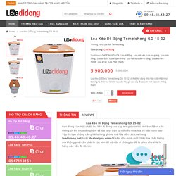Loa Kéo Di Động Temeisheng GD 15-02