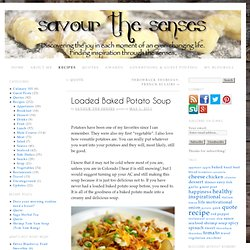Loaded Baked Potato Soup - StumbleUpon