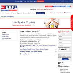 Loan Against Property (LAP)