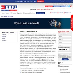 Home Loans in Noida, Housing Finance Company in Noida - DHFL