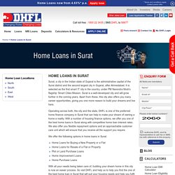 Home Loans in Surat, Housing Finance Company in Surat - DHFL