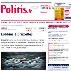 Lobbies à Bruxelles