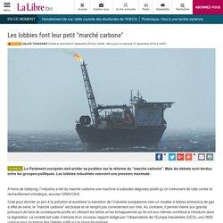"""Les lobbies font leur petit """"marché carbone"""""""