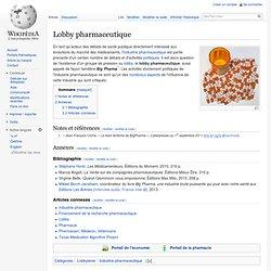 Lobby pharmaceutique