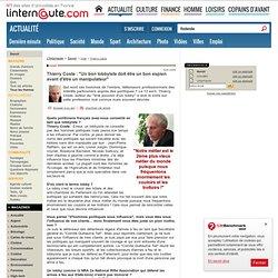 """Thierry Coste, lobbyiste auteur du """"Vrai pouvoir d'un lobby"""" en chat sur L'Internaute Magazine"""