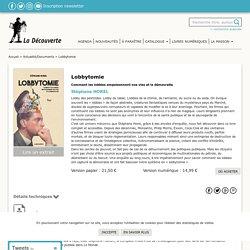 Lobbytomie - Stéphane HOREL