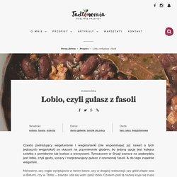 Lobio, czyli gulasz z fasoli