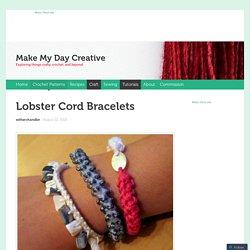 Lobster Cord Bracelets