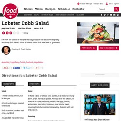Lobster Cobb Salad Recipes