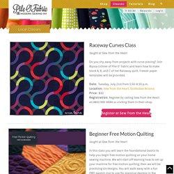 Local Classes – Pile O' Fabric