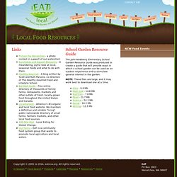 Local Food Resources