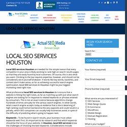 LOCAL SEO SERVICES HOUSTON