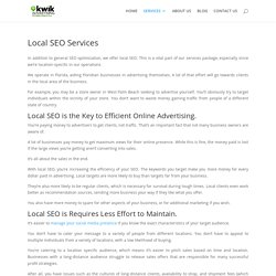 Local SEO Services For Small Business Success