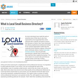 What is Local Small Business Directory?