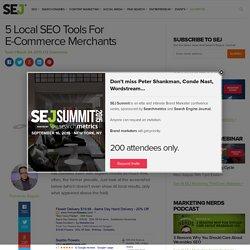 5 Local SEO Tools for E-commerce Merchants