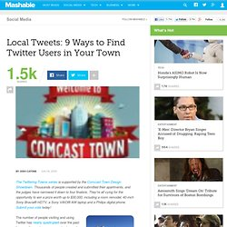 Local Tweets: 9 Ways to Find Twitter Users in Your Town