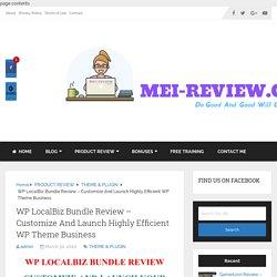 WP LocalBiz Bundle Review & Bonus - Local Clients Need This
