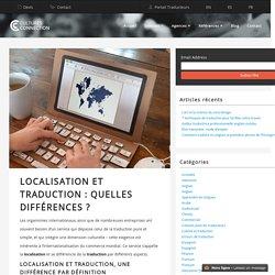 Localisation et traduction : quelles différences ?
