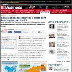 Localisation des données : quels sont les risques du cloud ?